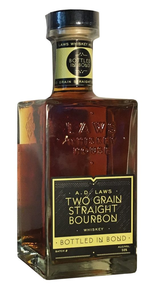 A.D. Laws Bottled in Bond Two Grain Straight Bourbon