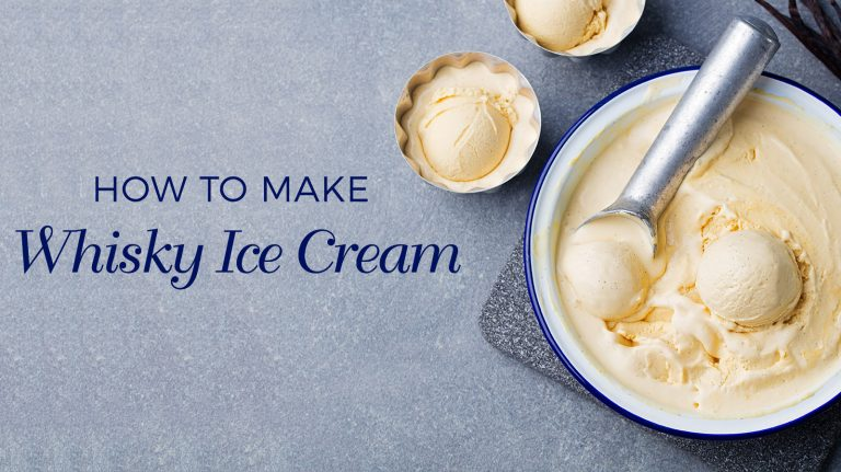 How to Make Whisky Ice Cream