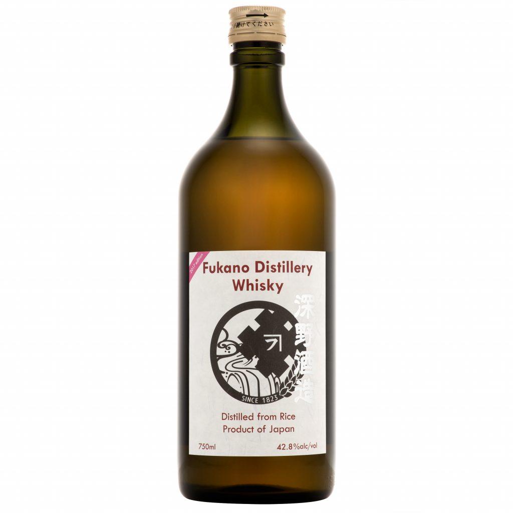 2017 edition fukano rice whisky