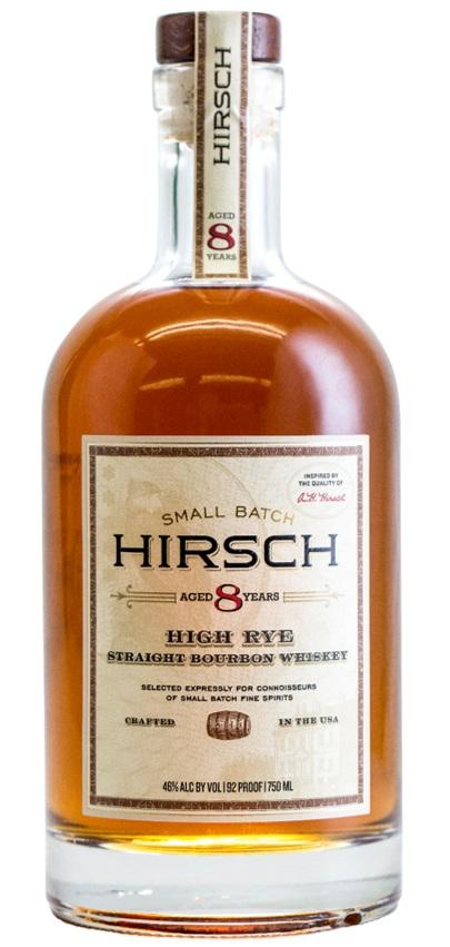 Hirsch Small Batch 8 year old High Rye Straight Bourbon