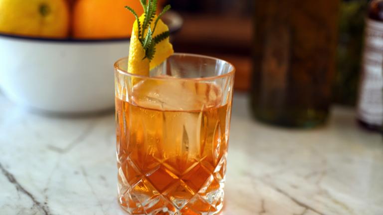 Lavender Old Fashioned [Cocktail Recipe]