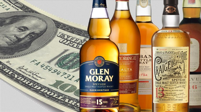 9 Highly Rated Single Malt Scotches Under $100