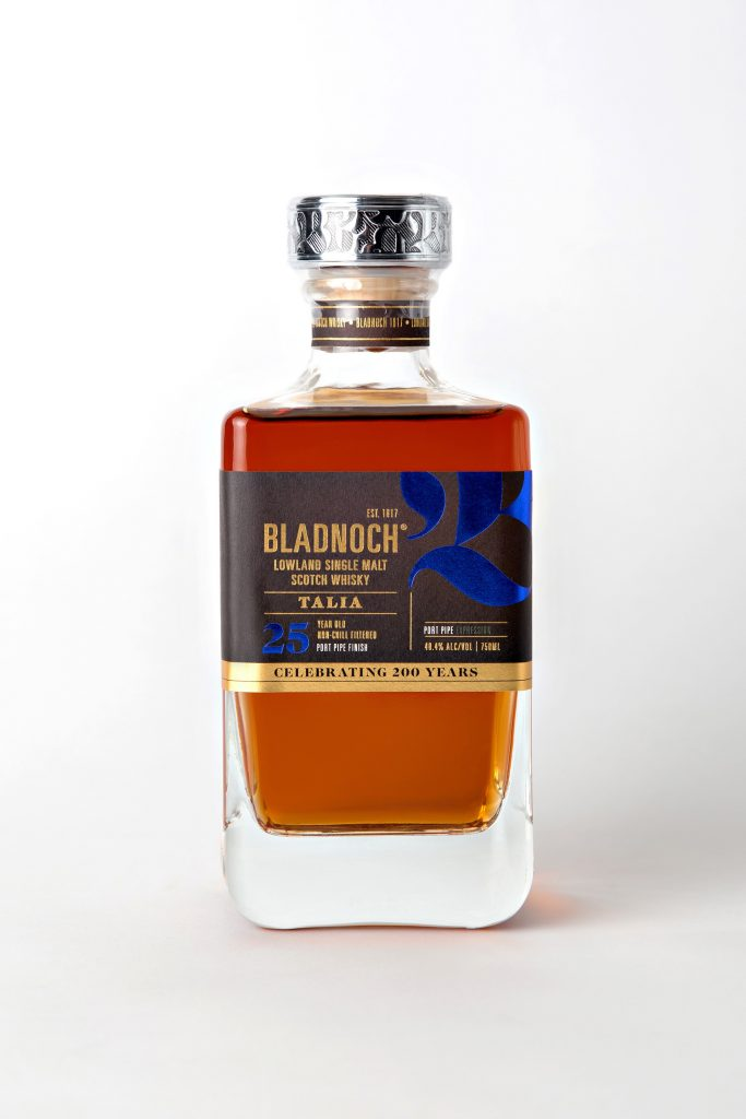 Bladnoch Talia 25 year old Port Pipe Finish