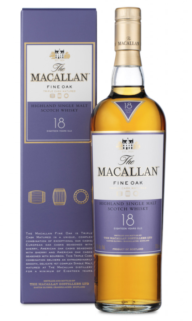 Macallan Fine Oak 18 year old