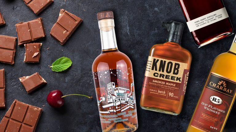 6 Irresistible Flavored Whiskies