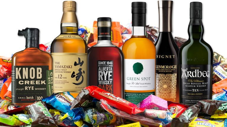 7 Whisky and Candy Pairings for Halloween—or Any Time of Year