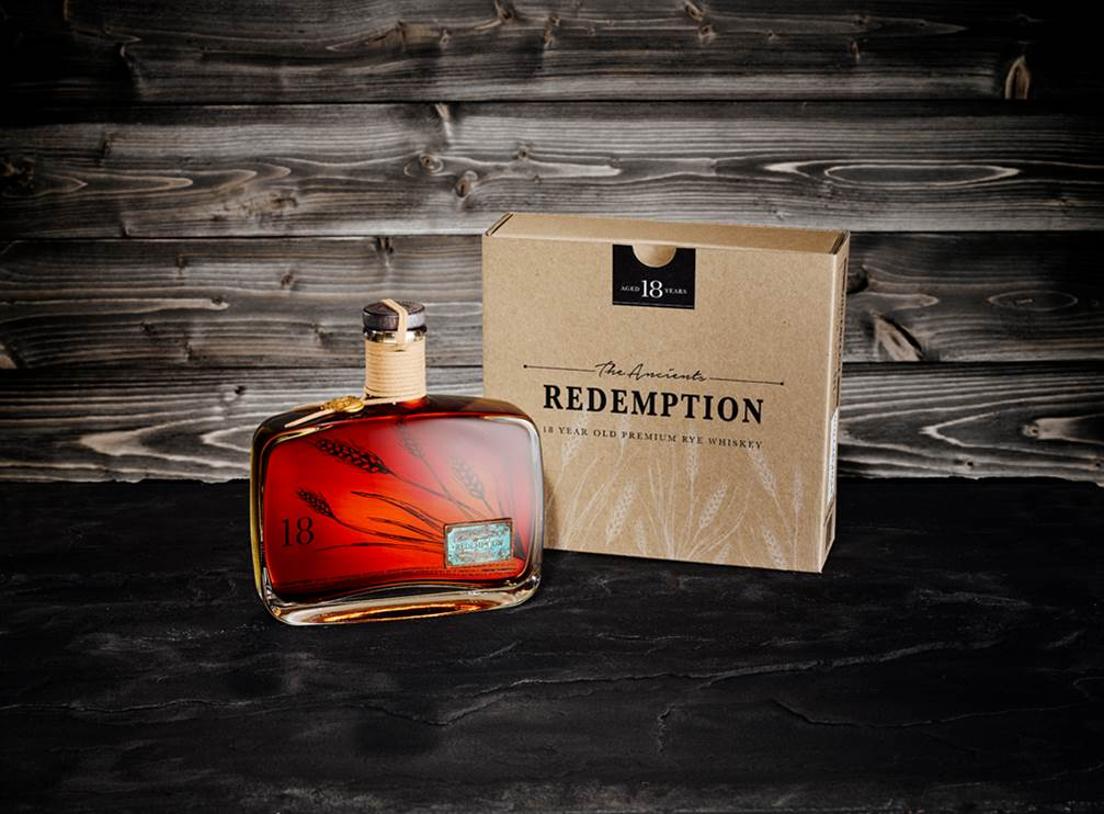 Redemption 18 year old Rye
