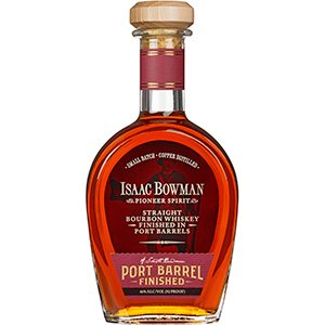 Isaac Bowman Straight Bourbon Finished in Port Barrels