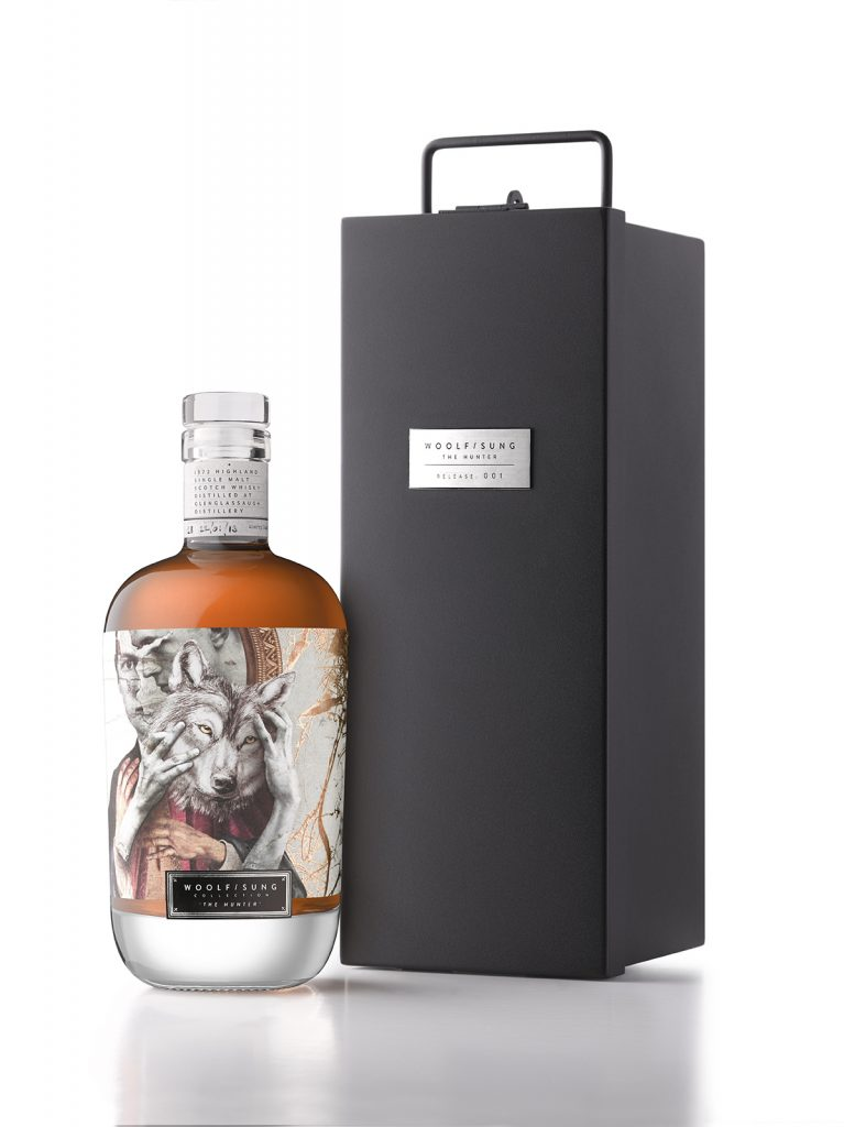 """Woolf Sung Collection """"The Hunter"""" Glenglassaugh 40 year old"""