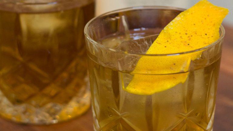 Fancy Bourbon Punch [Cocktail Recipe]