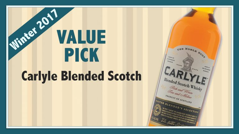 Winter 2017 Value Pick: Carlyle Blended Scotch