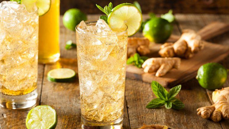 Bourbon & Ginger [Cocktail Recipe]