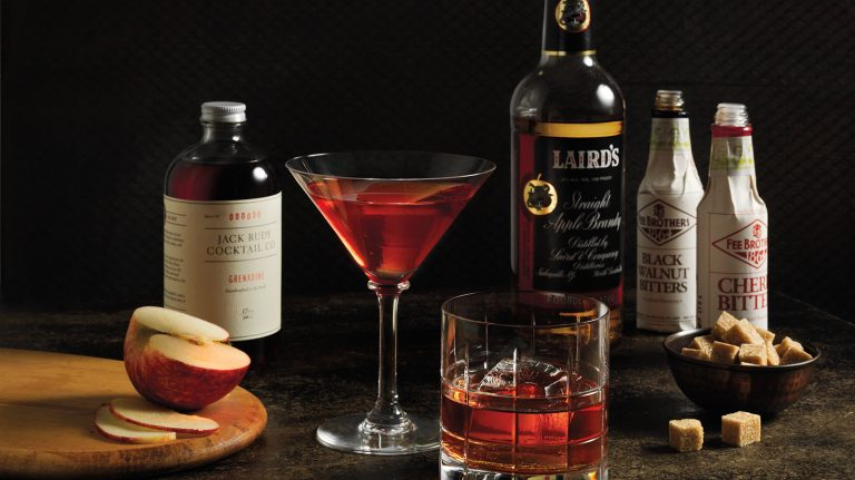 Apple Brandy Old-Fashioned [Cocktail Recipe]