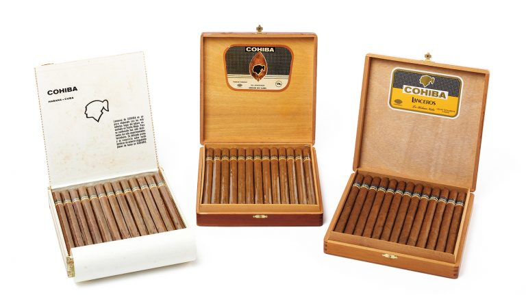 Buy Cigars at Auction to Go With Your Whisky