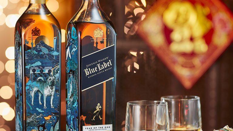 Chinese New Year Johnnie Walker, $15,000 Macallan & Lambay Irish Whiskey