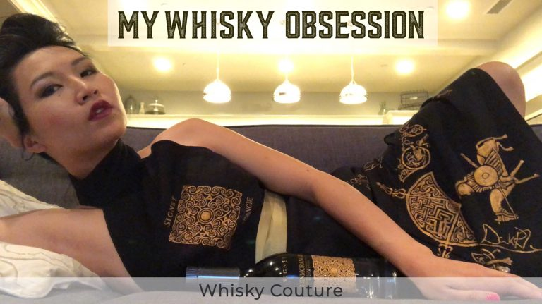 High Fashion and Whisky Look Great Together