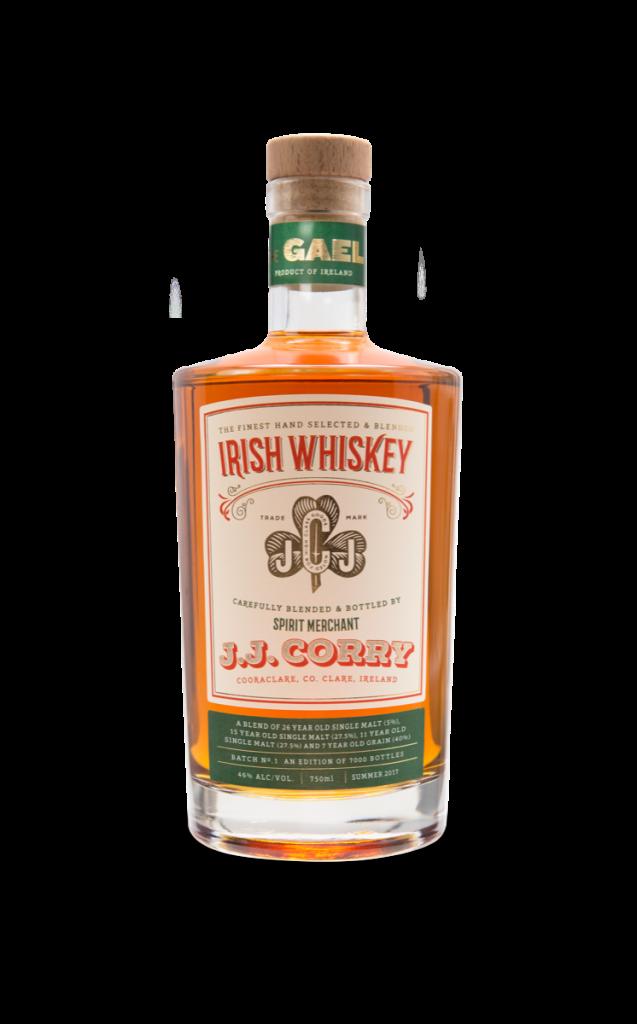 J.J. Corry The Gael Irish Whiskey