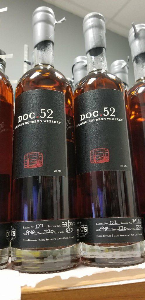 Doc.52 Straight Bourbon Whiskey