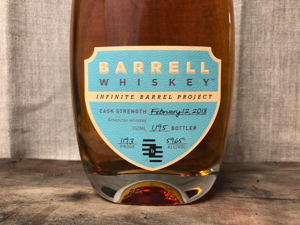 Barrell Infinite Barrel Project (February 12, 2018 bottling)