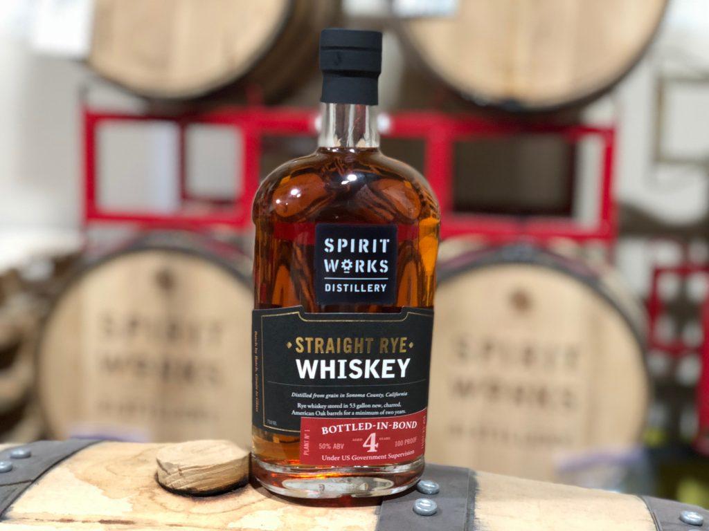 Spirit Works Bottled In Bond Straight Rye