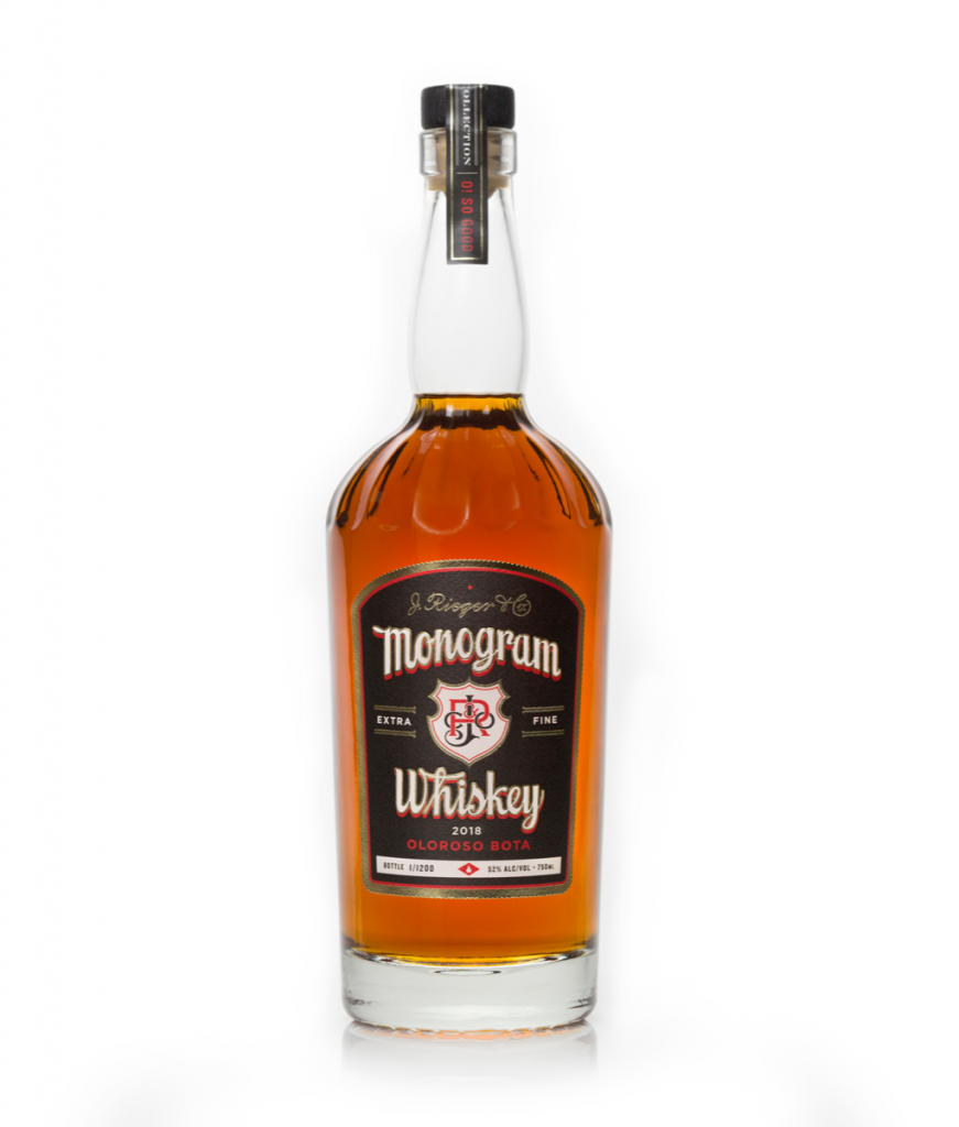 Rieger's Monogram Whiskey (2018 Release)