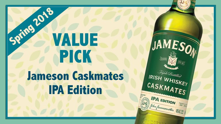 Spring 2018 Value Pick: Jameson Caskmates IPA Edition