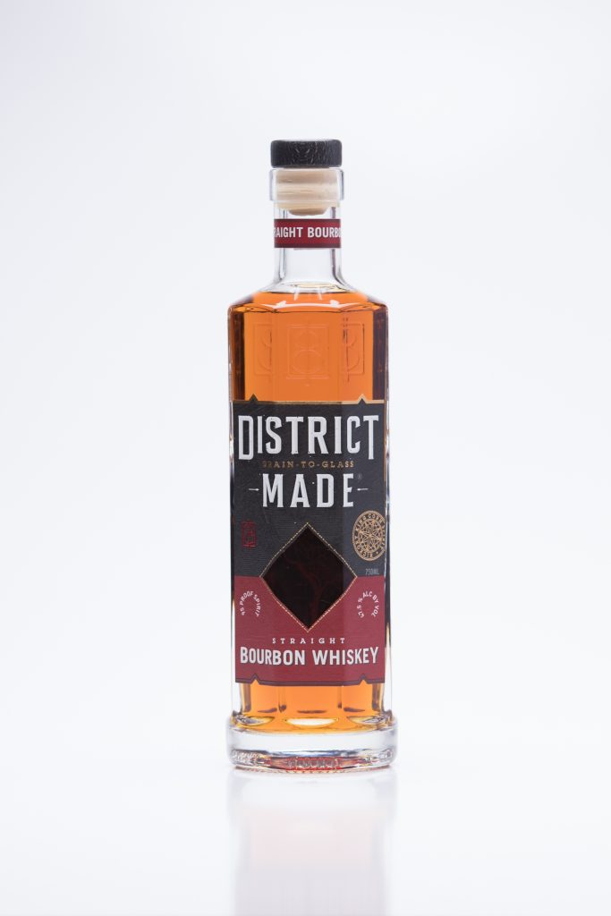 One Eight Distilling District Made Whiskeys