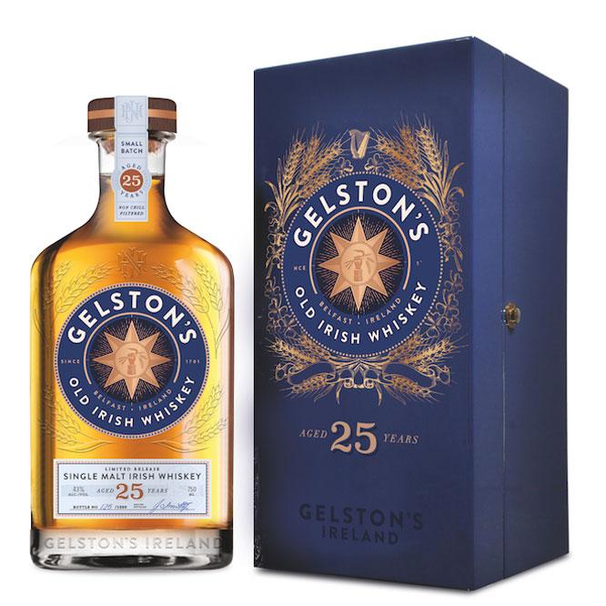 Gelston's 25 year old Single Malt Irish Whiskey