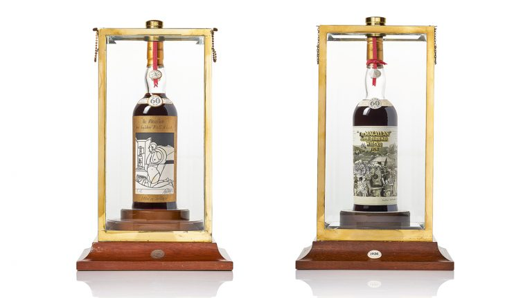 Macallan Breaks Auction Record with Million Dollar Whisky