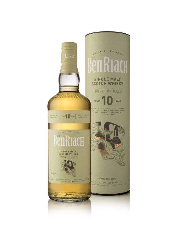 BenRiach Triple Distilled 10 year old