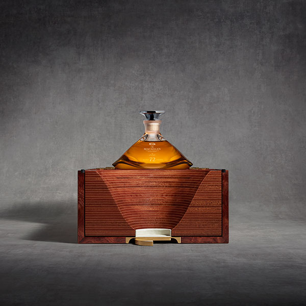 "Macallan in Lalique 72 year old ""The Genesis Decanter"""