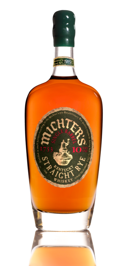 Michter's 10 year old Single Barrel Kentucky Straight Rye (2018 Release)