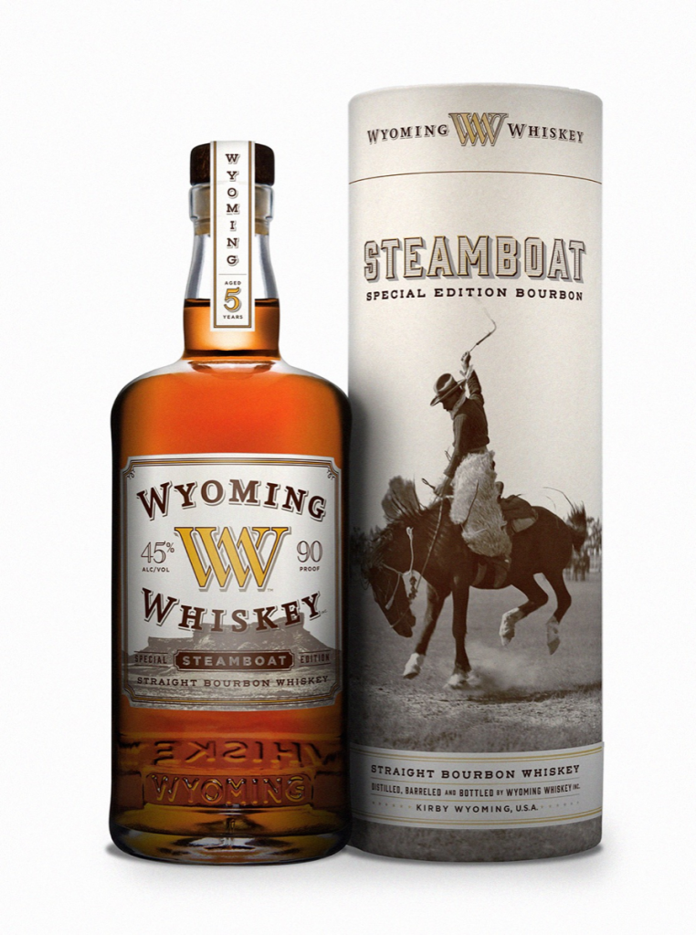 Wyoming Whiskey Straight Bourbon Steamboat Edition