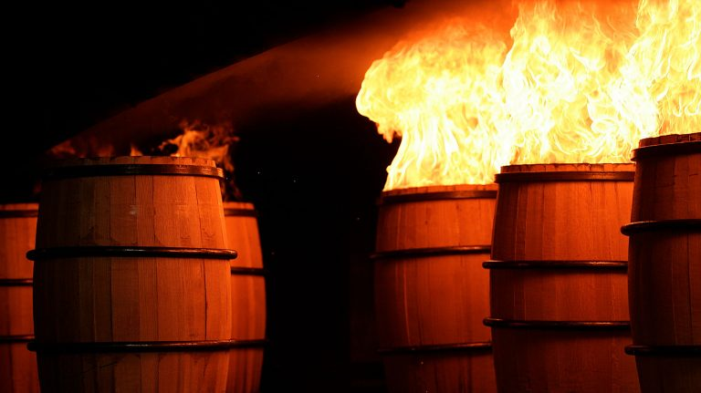 How Charring and Toasting Wood Impacts Whiskey Flavor