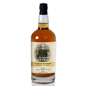 Lee W. Sinclair Four Grain Bourbon