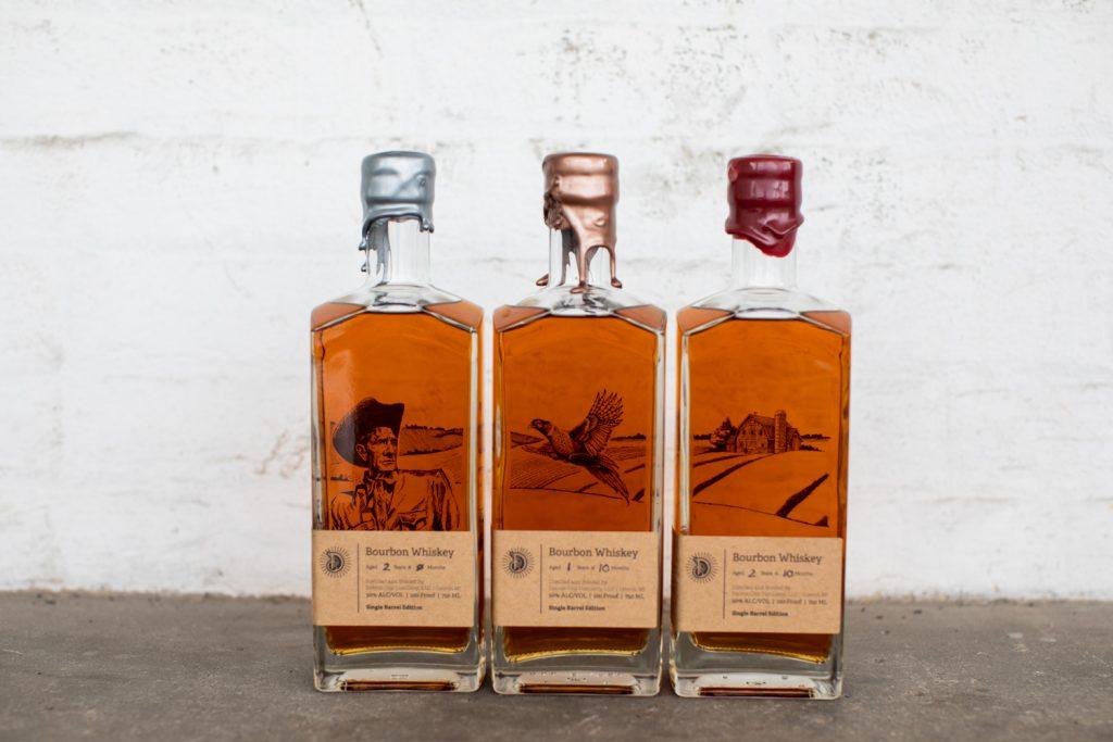 Detroit City Distillery Bespoke Bourbons