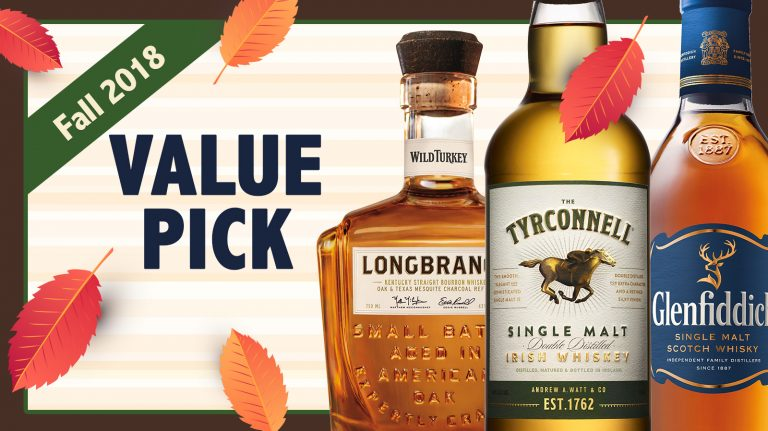 Fall 2018 Best Values: Tyrconnell, Glenfiddich, Wild Turkey