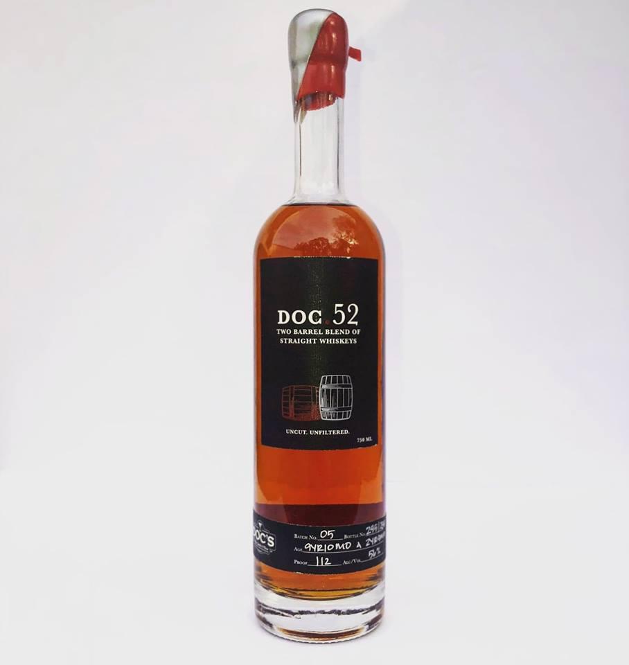 Doc.52 Two Barrel Blend of Straight Whiskeys