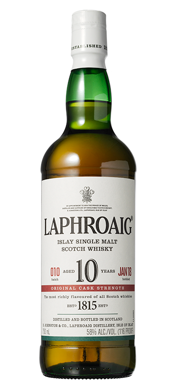 Laphroaig 10 year old Cask Strength (Batch 010)