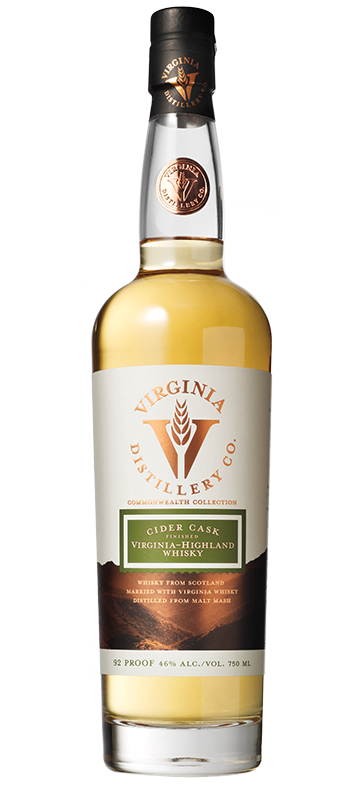 Virginia Distillery Co. Cider Cask Finished (Batch 3)