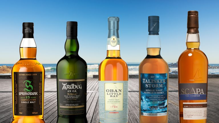 6 Highly Rated Single Malts from Scotland's Coastal Regions