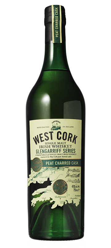 West Cork Glengarriff Series Peat Charred Cask