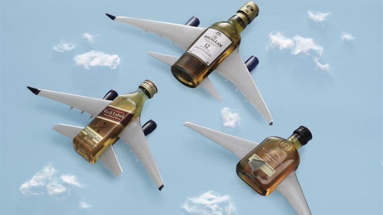 A Whisky Lover's Guide to Airplane Drinking