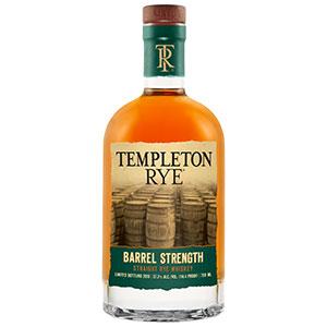 Templeton Barrel Strength Straight Rye