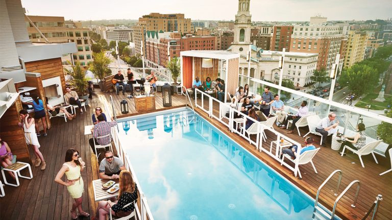 Dive Into A Whisky at One of These Poolside Bars