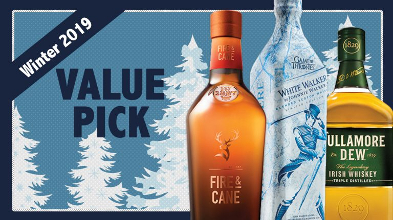 Winter 2018 Best Values: Johnnie Walker, Glenfiddich, Tullamore D.E.W.