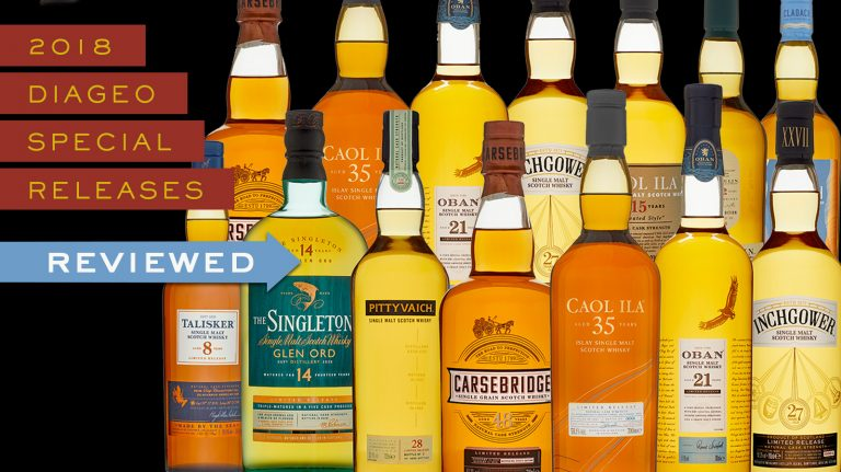 The 2018 Diageo Special Releases Reviewed