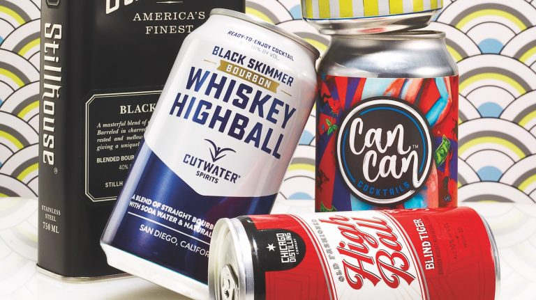 Canned Whiskey Cocktails Make For Easy Drinking