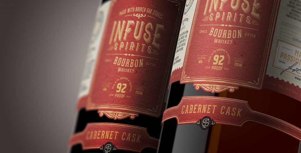 Infuse Spirits Cabernet Cask Bourbon