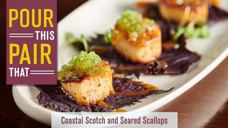 These Seared Sea Scallops Are a Perfect Match for Coastal Scotch